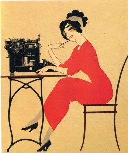 lady-sitting-at-typewriter