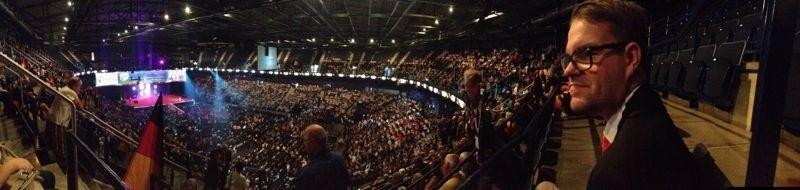 Opening ceremony @ LCIC, Hamburg
