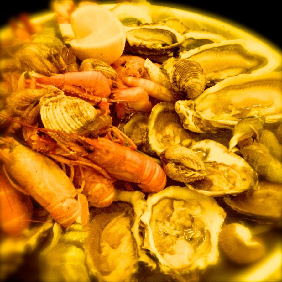 Plateau de fruits de mer @ Café Paris, Hamburg