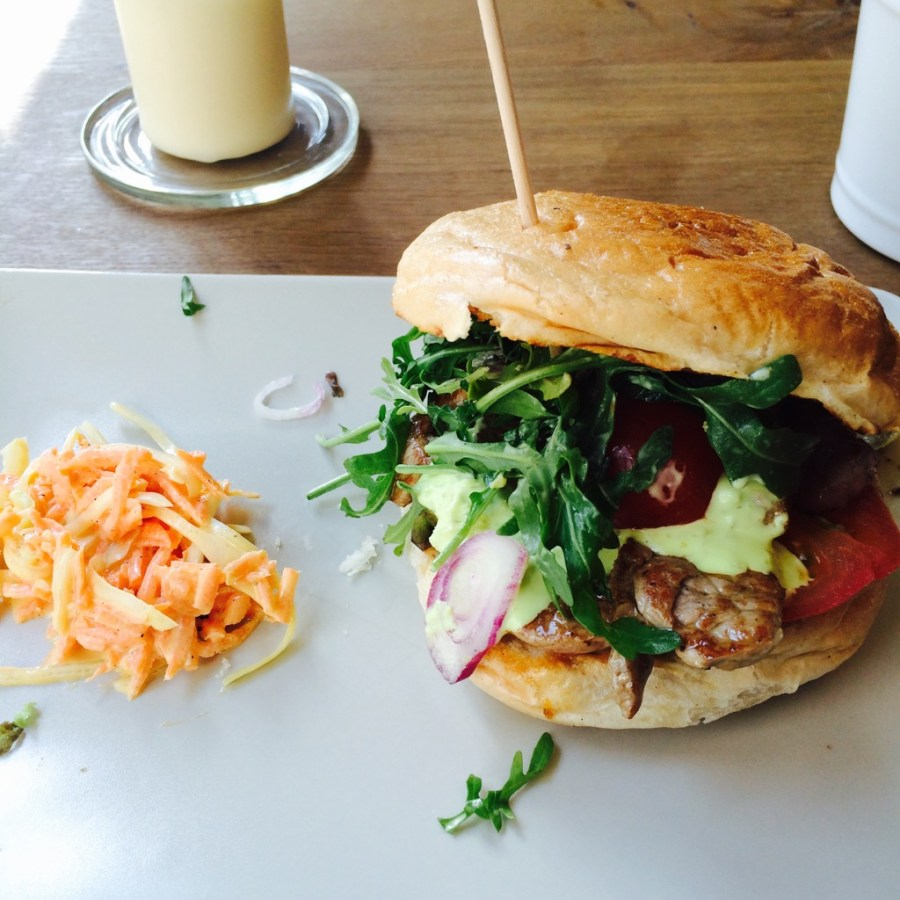 Philly Cheesesteak Burger @ Wilde Kuh 2, Bielefeld