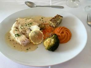 Panaché de poissons au beurre blanc @ Grand Hôtel de Dunes, Lesconil