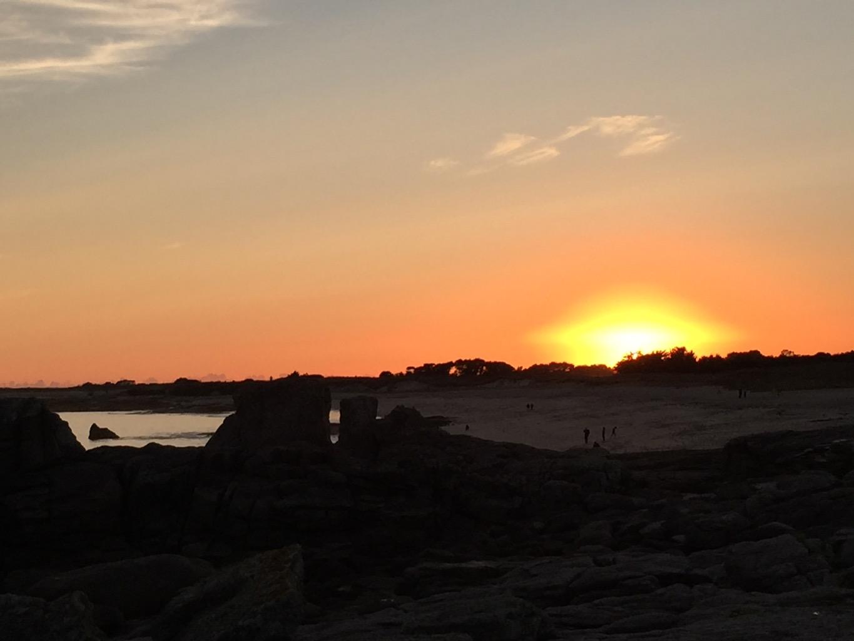 Sonnenuntergang II @ Lesconil, Frankreich