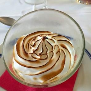 Crème à l'orange @ Grand Hôtel de Dunes, Lesconil