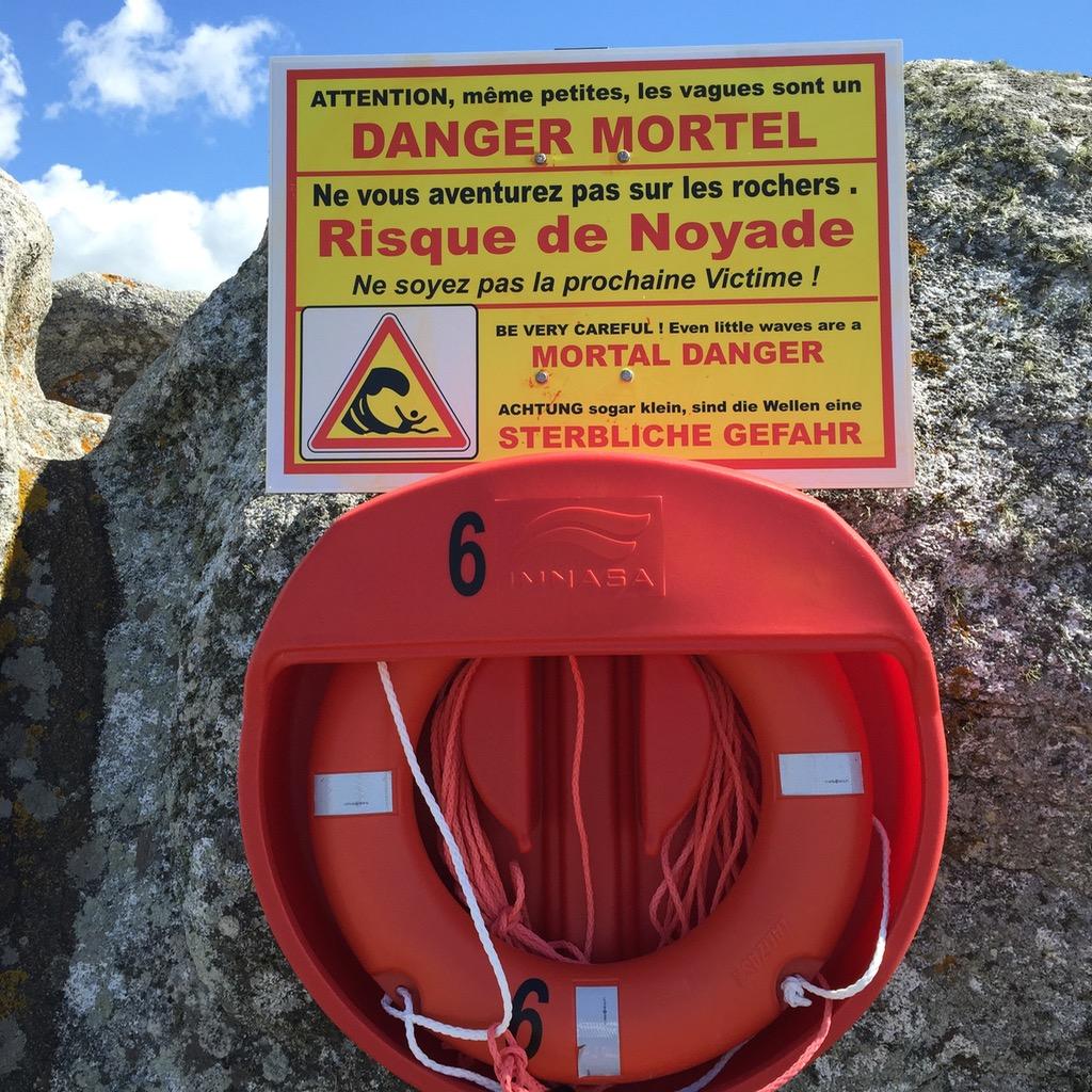 Sterbliche Gefahr @ Saint-Guénolé, Bretagne
