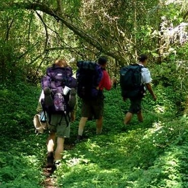 Hiking trails while hunting in South Africa