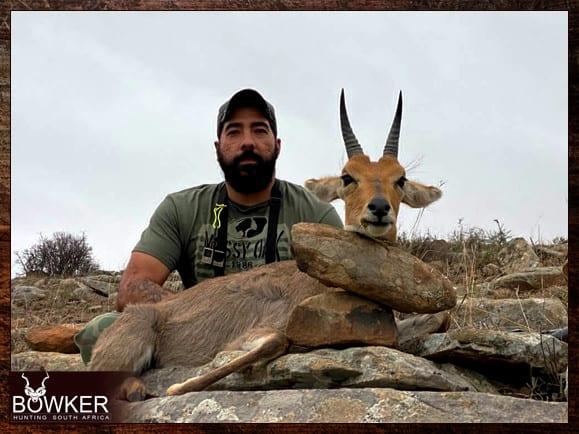 Mountain Reedbuck trophy hunting