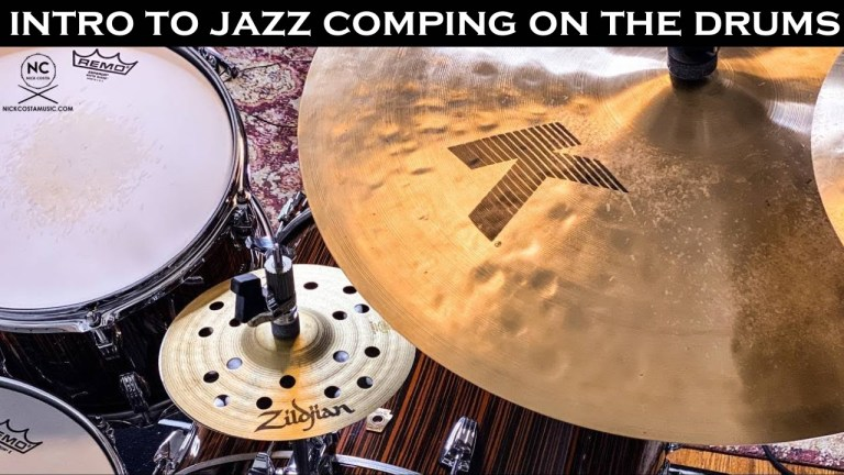 Introduction into jazz comping on the drums. nick costa music nick costa drums nick costa vic firth nick costa remo nick costa zildjian nick costa ludwig