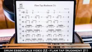 Drum Essentials Video 22 - Flam Tap (Rudiment 21) NickCostaMusic.com nick costa music nick costa drums nick costa remo nick costa vic firth nick costa ludwig nick costa zildjian nick costa drums nick costa music nick costa drum teacher drum lesson free drum lesson drum rudiments