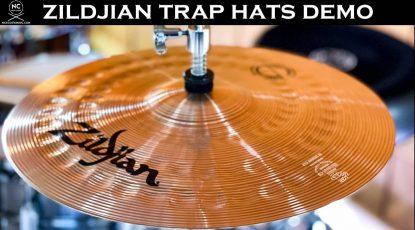 Zildjian Concept Shop Trap Hats Demo