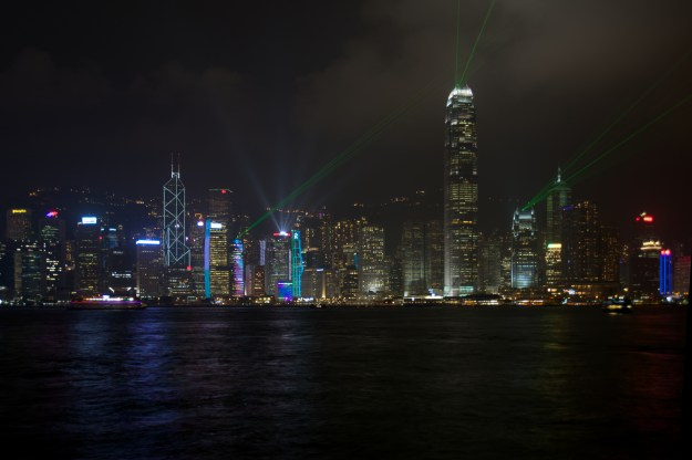 Hong Kong Symphony of Lights from Kowloon