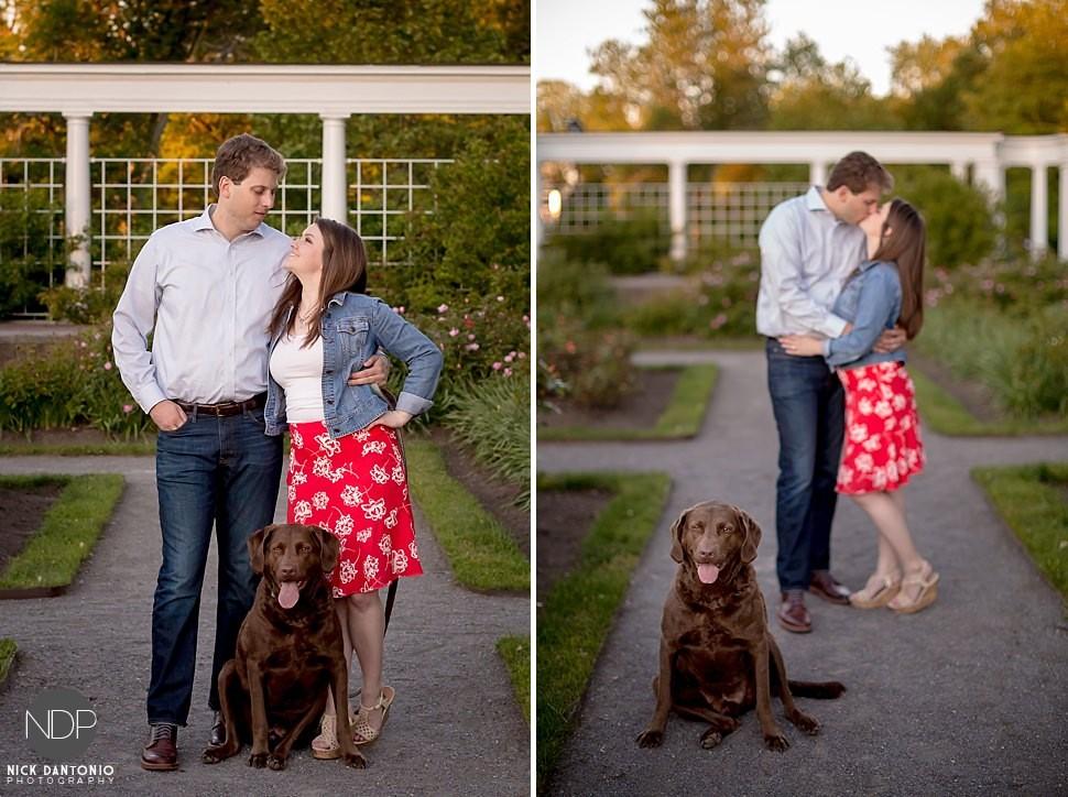 24-Delaware Park Engagement Photos