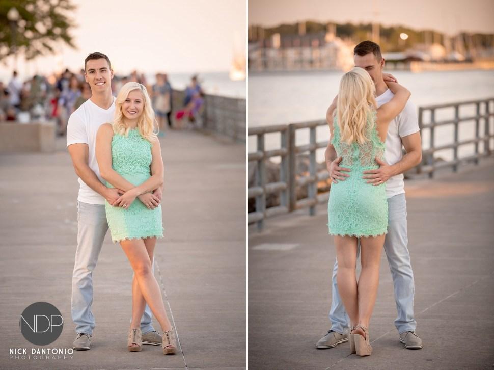 5-Charlotte Beach Engagement