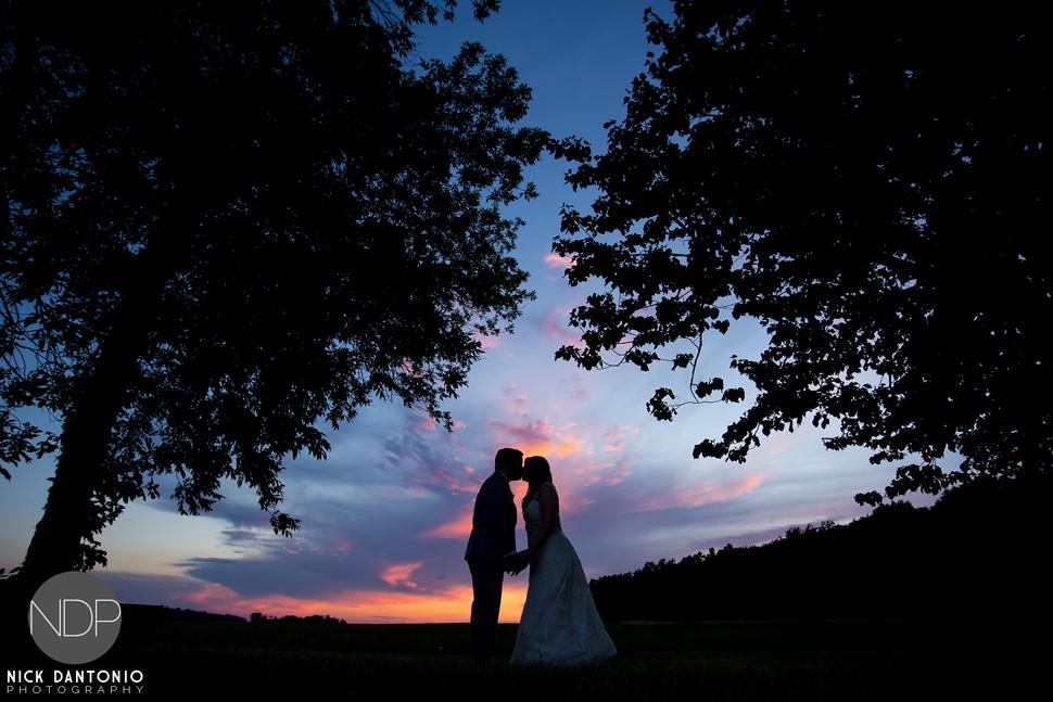 81-Becker Farms Sunset Wedding