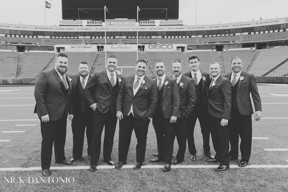 24-Buffalo Bills New Era Field Wedding