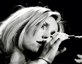 Cara Dillon performing live at Cambridge Folk Festival 2 Aug 200