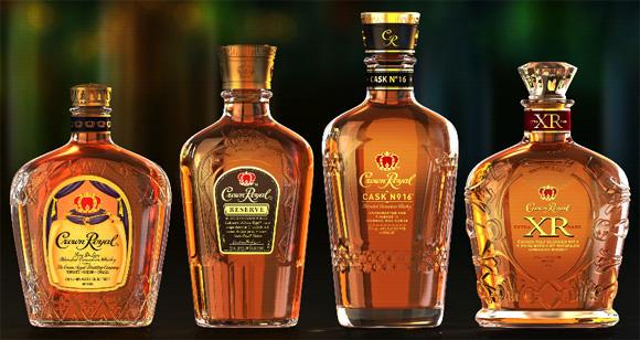 Crown Royal Whiskeys