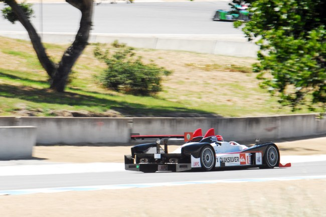 American Le Mans Series at Laguna Seca, Monterey California- Speed Wong Racing LMPC Prototype