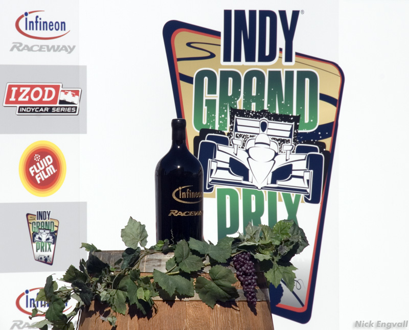 Infineon Raceway Indy Grand Prix in the heart of California's Wine Country