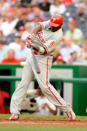 Ryan Howard of the Phillies - adidas Baseball Cleats