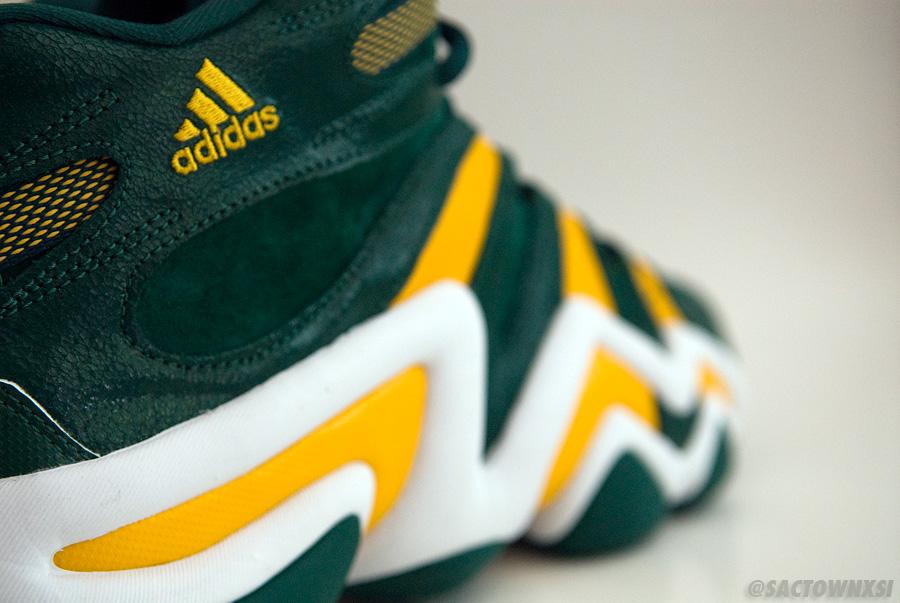 Player Exclusive adidas Crazy 8 Baylor Bears PE PS SM SMU Green/Yellow