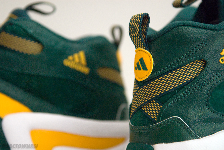 adidas Crazy 8 Baylor Bears PE PS SM SMU Player Exclusive Sample Green/Yellow