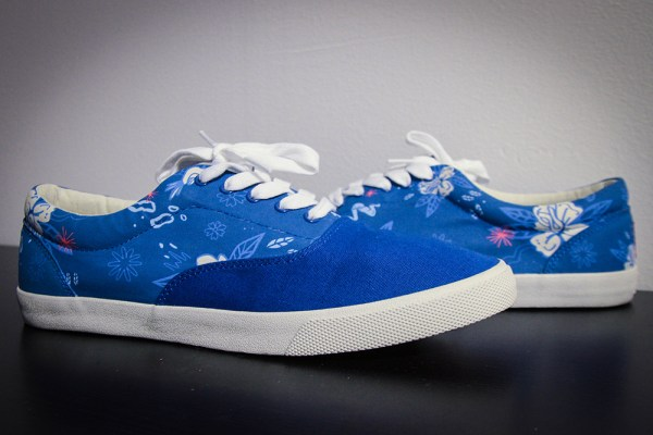 """Bucketfeet Lace Up """"Blue Lagoon"""" by Cash"""