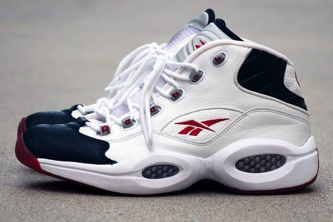 Reebok Question Black Toe, 2001.
