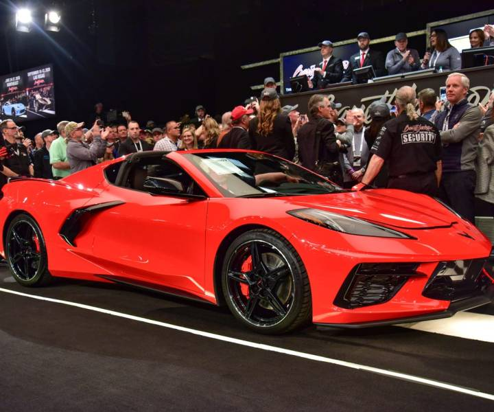 $3 Million Dollar 2020 Corvette