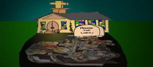 The church split machine