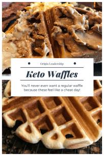 Keto Waffle Recipe Ketogenic Pancake Recipe