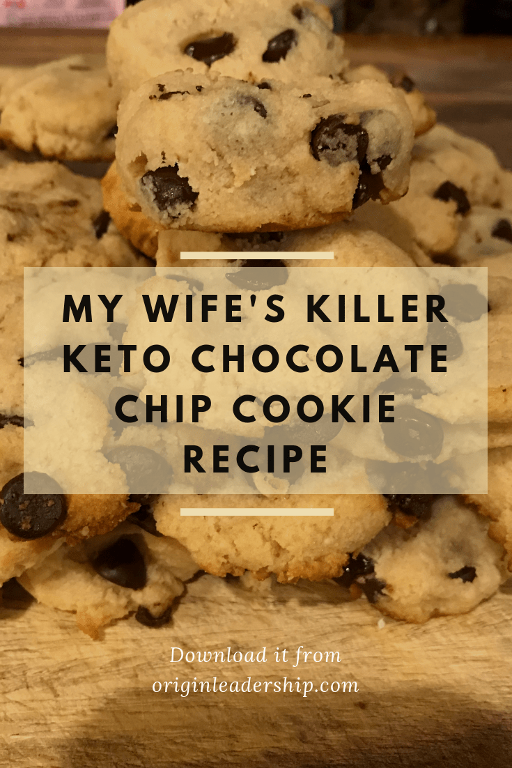 This is my wife incredible Ketosis Chocolate Chip Cookie Recipe. These cookies don't just take like the real thing, they are as soft (or softer) as the real thing! May these are the real thing???