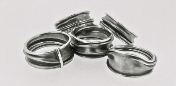 Landscaped Fold formed ring