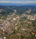 Beaverton Oregon aerial photo