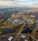 Eugene aerial photography