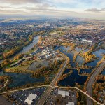 Eugene aerial photography