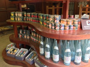 Sake and Canned Food
