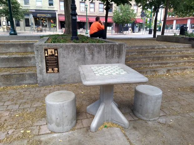 Chess Table in Hanover Square