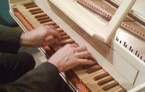 Nick Houghton harpsichord