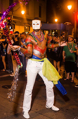 Mardi_Gras_2012_-_Honolulu_Baton_Dancer by Kyle Nishioka
