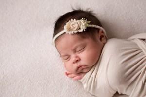 newborn baby gril