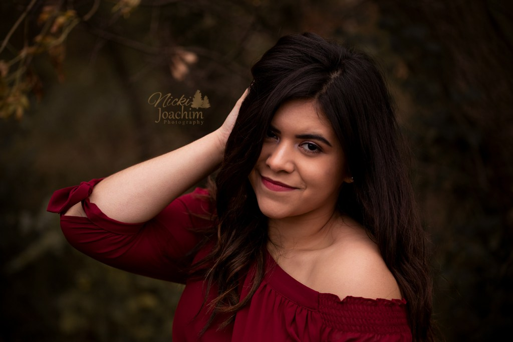 Outdoor styled senior session