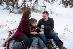 Outdoor lifestyle family photo session portrait by MN Family Photographer Nicki Joachim Photography of Owatonna, Minnesota