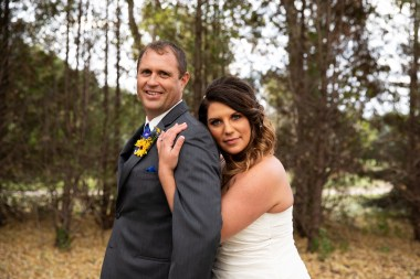Wedding portrait of bride and groom at outdoor rustic country wedding in Kasson MN by MN Wedding Photographer Nicki Joachim Photography of Owatonna, Minnesota