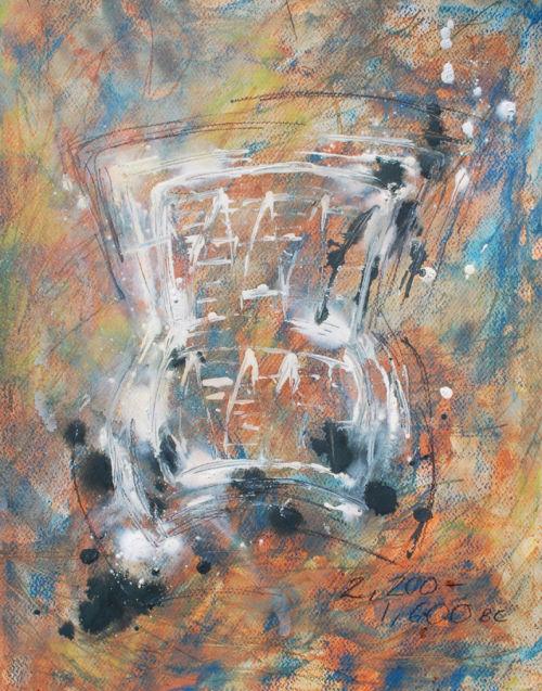 Beaker Abstract II - Nicki MacRae