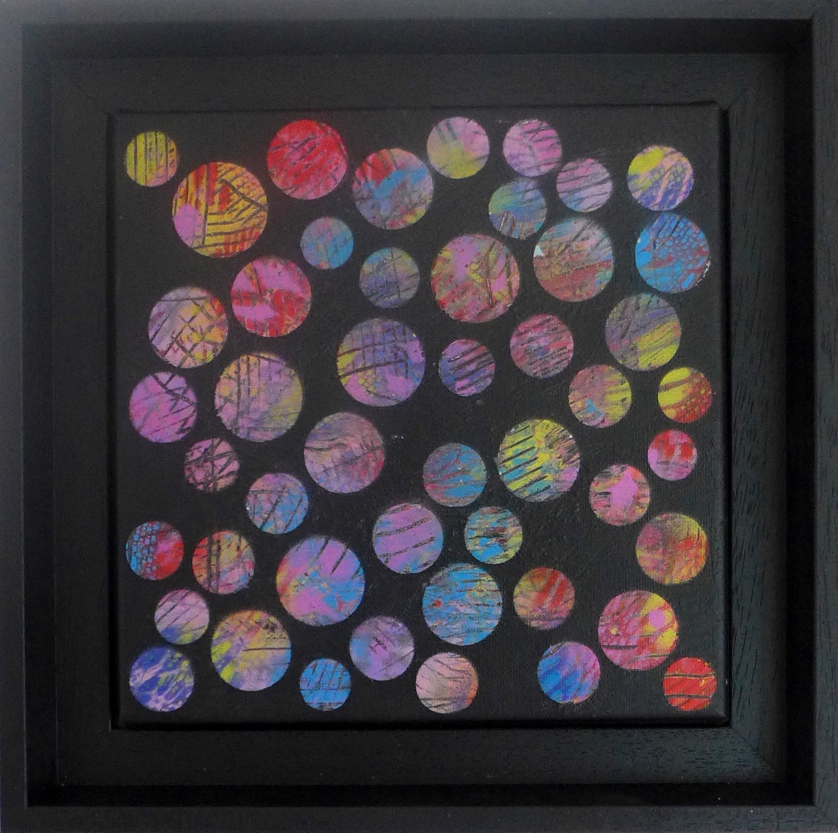 'Dots No17' painting by Nicki MacRae