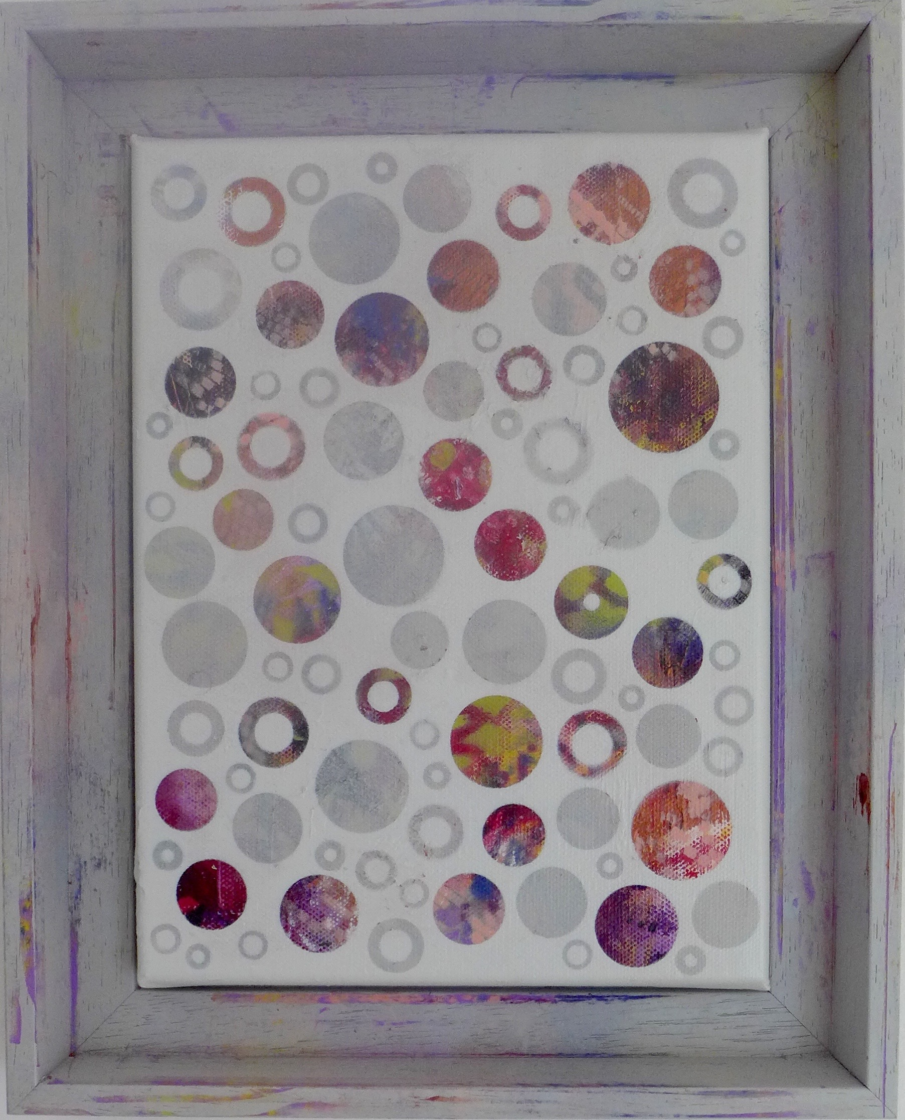 'Dots No14' painting by Nicki MacRae