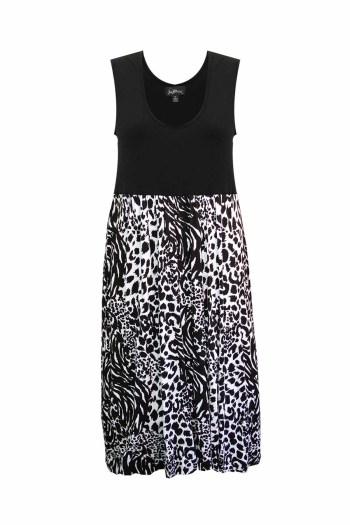 Luna Dress Leopard