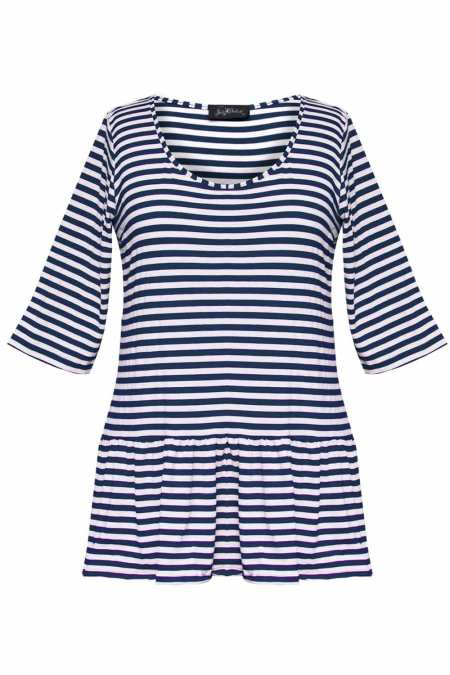 dharma-navy-stripe-top