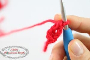Foundation DOUBLE CROCHET