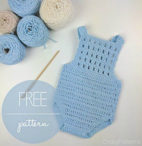 20 Most Adorable Free Baby Crochet Patterns - Nicki's